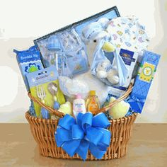 Abdl caption photo pinterest captions the perfect gift basket special stork delivery baby boy basket negle Image collections