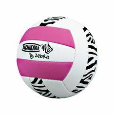 Fun Tachikara Pink Zebra volleyball