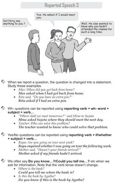 Grade 9 Grammar Lesson 41 Reported Speech 3 (1) English Grammar Rules, Good Grammar, Grammar Book, English Sentences, English Vocabulary Words, Teaching Grammar, English Phrases, English Idioms, Grammar Lessons