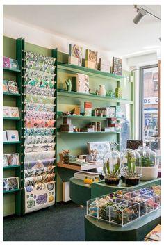 Gift Shop Interiors, Flower Shop Interiors, Store Interiors, Flower Shop Decor, Flower Shop Design, Stationary Shop, Stationery Store, Stationery Design, Gift Shop Displays