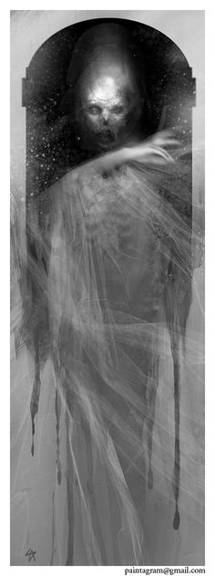 """Manifestation"" - Interior artwork for ""The God Machine Chronicle, Published by Onyx Path."