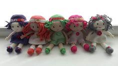 Mes poupées au crochet