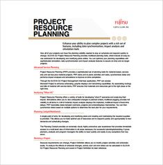 project plan outline template