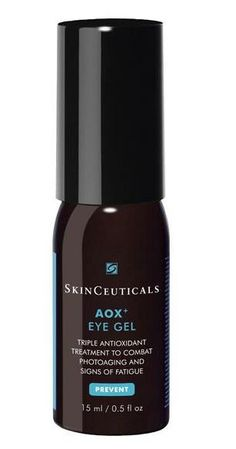 skinceuticals aox+ eye gel depuffs baggy under eyes #skincare #antiaging