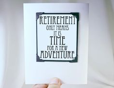 Retirement Card and Magnet Quote  Gift Magnet by katndrewcards, $5.00