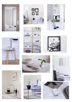Interior Design, muted colors, minimalist home via Coffee Table Diary