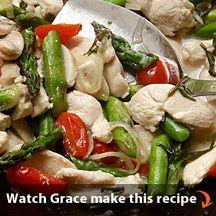 Chicken Provencal Stir-Fry