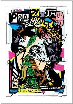 Pearl Jam Poster 2012