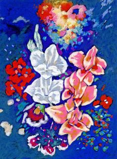 Gaia's nuances 2000 pastel on sandpaper Service Map, Sandpaper, Gaia, Still Life, Pastel, Sign, Drawings, Floral, Artwork