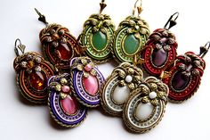 Soutache Earrings Simplicity