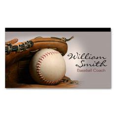 Creative baseball coach baseball trainer business card pinterest baseball coach business card colourmoves