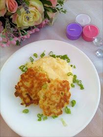 Dětem zdravě: Květákové placičky (od 10-12 měsíců) Cauliflower, Macaroni And Cheese, Food And Drink, Vegetarian, Meals, Vegetables, Breakfast, Ethnic Recipes, Asd