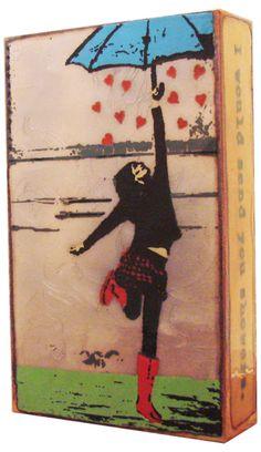 Rain Dance Spiritile by Houston Llew | Home Decorative Accents