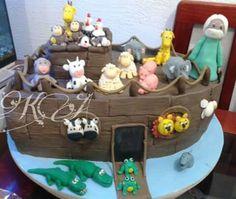 Bolo arca de Noé