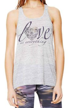 Anjali Love is Everything Flow Top – The Body Language Boutique Love Is Everything, Yoga Tank Tops, Womens Workout Outfits, Gym Wear, Fit Women, Active Wear, My Style, How To Wear, Clothes
