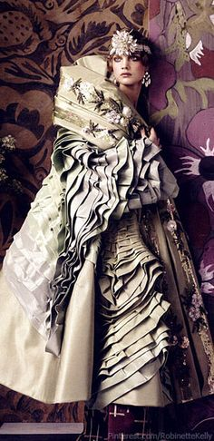 "Christian Dior, Spring 2007 Couture | Vogue US, ""Fashioning the Century"", May 2007"