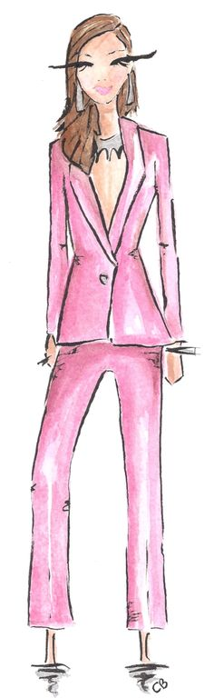 Fashion illustration by Carrie Beth Taylor