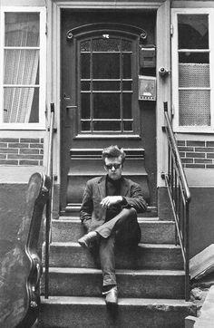 Stuart Sutcliffe, Hamburg, 1961. Photo by Astrid Kirchherr,