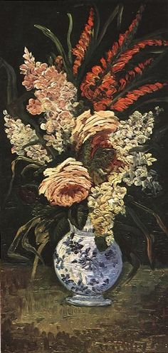 Vincent van Gogh: The Paintings (Vase with Gladioli and Lilac) FYI, Another Artist: http://universalthroughput.imobileappsys.com/ The Gallery Of An Acrylic Creationist here: http://universalthroughput.imobileappsys.com/site2/gallery.php