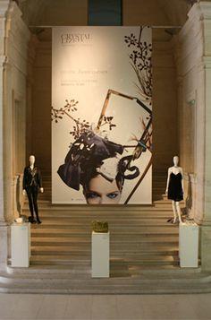#Profirst #showroom #Swarovski Crystal Loves Leather collection shine #UniondesArtsDecoratifs #Paris