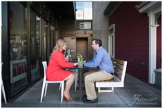 Michelle & Matt's Engagement | France Photographers | Little Italy, San Diego