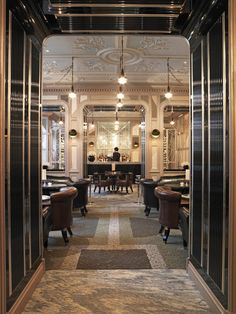The Connaught Bar at the Connaught London.....margarita anyone? - espai  http://www.justleds.co.za