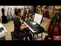 Prenosný elektronický keyboard | Medeli A300 - YouTube Keyboard, Piano, Music Instruments, Youtube, Musical Instruments, Pianos, Youtubers, Youtube Movies