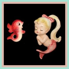 I really need to find these vintage mermaids