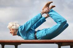 83-Year-Old Yogi Betty Calman Teaches 11 Yoga Classes Week