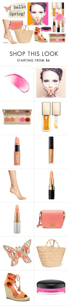 Hello Spring! by istyled on Polyvore featuring beauty, Stila, Bobbi Brown Cosmetics, Laura Mercier, MAC Cosmetics, Paperself, NYX, Clarins, Chan Luu and Napier