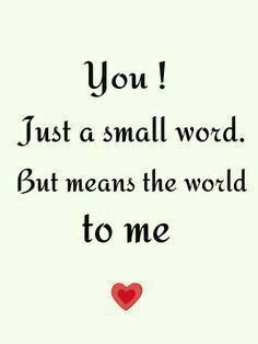 Image result for You Mean The World To Me Images