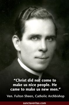 Venerable Fulton Sheen - so young! Catholic Memes, Catholic Prayers, Catholic Saints, Roman Catholic, Catholic Art, Religious Pictures, Religious Quotes, Catholic Gentleman, Fulton Sheen