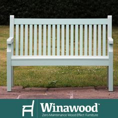 This beautiful bench requires no maintenance. Just another reason to choose Winawood for your garden this year. And now only 269 including delivery while stocks last. #winawood #gardenfurniture #uk
