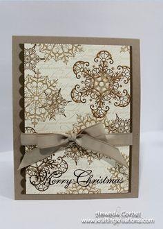 Neutral Christmas Snowflakes