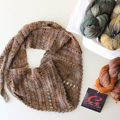 I've finished my Ella Rae scarf. Made with just one skein of gorgeous extra fine merino wool. Super soft and delicate. We have a lovely range of colours in store and will be adding more colours shortly. #yoursinyarn Robyn xxx