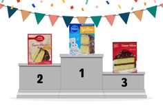 Want the best brands for your pantry? The Taste of Home Test Kitchen put to the test. This time they tried eight brands to find the best cake mix. Harry Potter Torte, Best Cake Mix, Chocolate Cake Mixes, Yellow Cake Mixes, Taste Of Home, Test Kitchen, Baby Party, Best Brand, Your Favorite