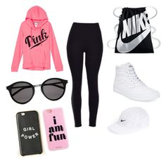 """nike styles"" by indiajg on Polyvore featuring art"