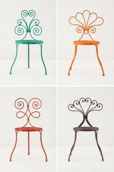 More patio furniture colors
