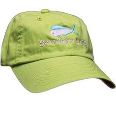Apple Green Unstructured Hat. Baseball Hats ... 6d20623fffef