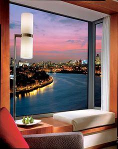 Four Seasons Hotel London, Canary Wharf - Luxury Life, Luxury Living, Luxury Homes, Luxury Beauty, Vivre A New York, Design Rustique, Window View, London Hotels, Through The Window