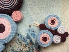 colier fluture handmade Crochet Earrings, Butterfly, Flowers, Jewelry, Felting, Amigurumi, Jewlery, Jewerly, Schmuck