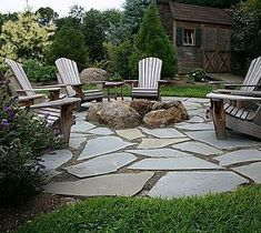 my patio idea with left over broken cement that I'm having taken out and in the center a fire pit backyard design diy ideas Casa Patio, Pergola Patio, Outdoor Landscaping, Pergola Kits, Pergola Ideas, Firepit Ideas, Fire Pit Landscaping Ideas, Cheap Pergola, Diy Patio