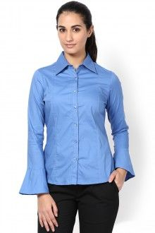 Buy Formal Shirts for Women Online, Ladies Corporate Shirts for Office & Work