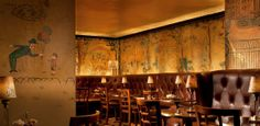 Situated near our shop, stop by Bemelmans Bar in the Carlyle Hotel for a bite or a drink. Named after Ludwig Bemelmans, the creator of the classic Madeline children's books, his whimsical artwork covers the walls—the only surviving commissioned Bemelmans' work that is open to the public. | #BHLDNues