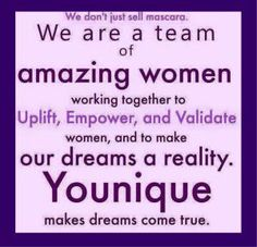 I am immensely proud of my Y-sisters and to represent such amazing company! We enhance lashes, but we above all change lives #Youniquelife #lifechanging #sisterhood #uplift #empower #validate #YouniqueFoundation