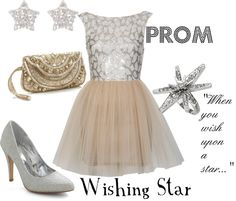 """""""Prom: Wishing Star"""" by disneydiva305 ❤ liked on Polyvore"""