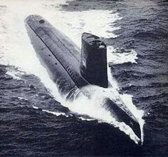 USS Triton a United States Navy nuclear-powered radar picket submarine, was the first vessel to execute a submerged circumnavigation of the Earth (Operation Sandblast), doing so in early Us Navy Submarines, Nuclear Submarine, Us Navy Ships, United States Navy, Navy Chief, War Machine, Battleship, Underwater, Joint Venture