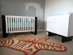 modern giraffe baby's room | Project For: Nursery Location: West Holywood, CA Description: