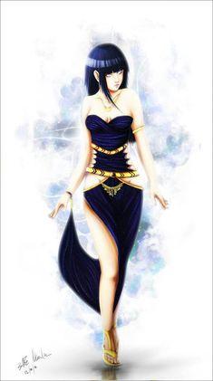 Hinata in dress