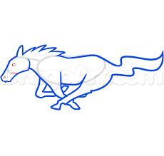 Image result for mustang 5.0 drawing
